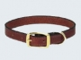 Plain Leather Dog Collars
