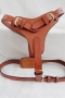 LDH-011- Leather Dog Harness