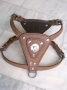 LDH-012- Leather Dog Harness